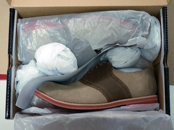 買った靴3