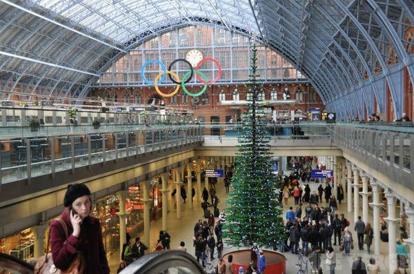 ロンドンのレゴクリスマスツリー3