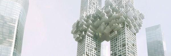 ソウルのツインタワー