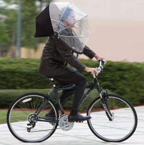 自転車のりながらnubrella