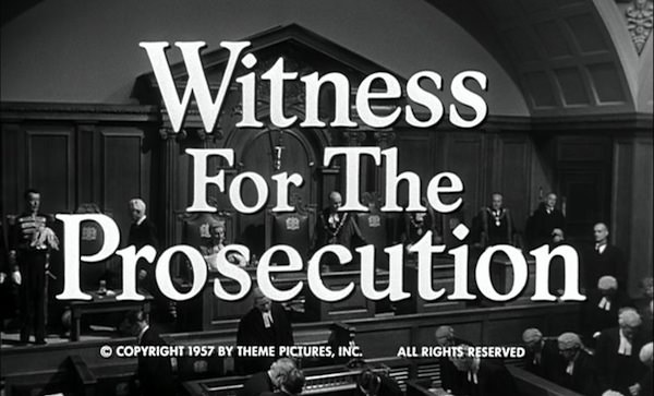 Witness for the Prosecution 情婦