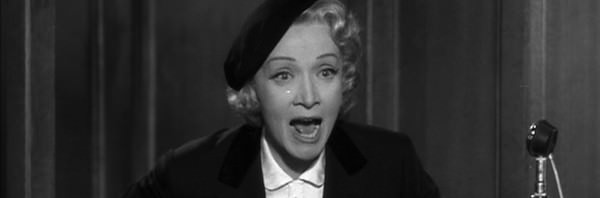 Witness for the Prosecution マレーネ・ディートリッヒ