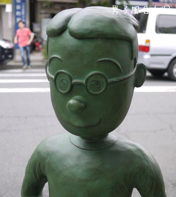 桜新町 サザエさん マスオ銅像