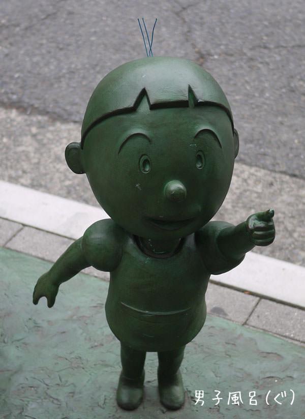 桜新町 サザエさん タラちゃん銅像
