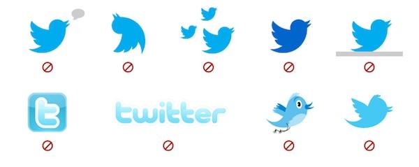 ツイッター禁止ロゴ