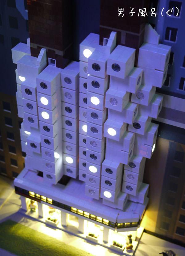 レゴ 中銀カプセルタワービル