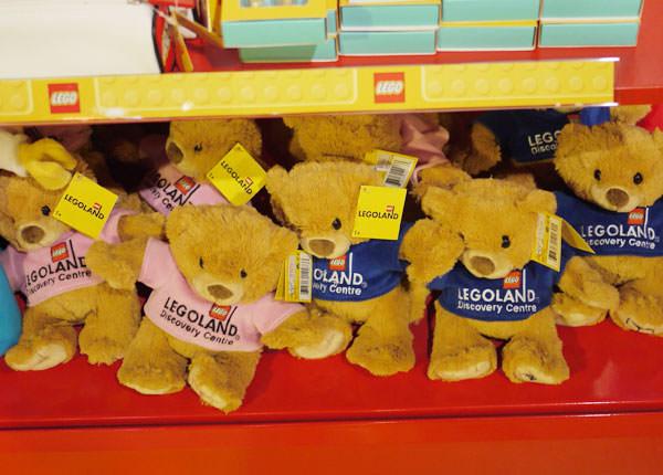 レゴランド 限定熊のぬいぐるみ