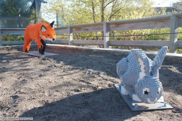 セアン・ケニー レゴ 狐とウサギ