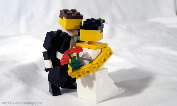セアン・ケニー レゴ 結婚式