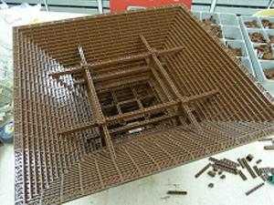 レゴ 中尊寺金色堂 ダミーの屋根