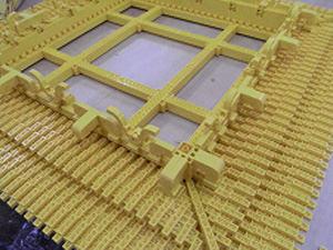 レゴ 中尊寺金色堂 屋根下の垂木