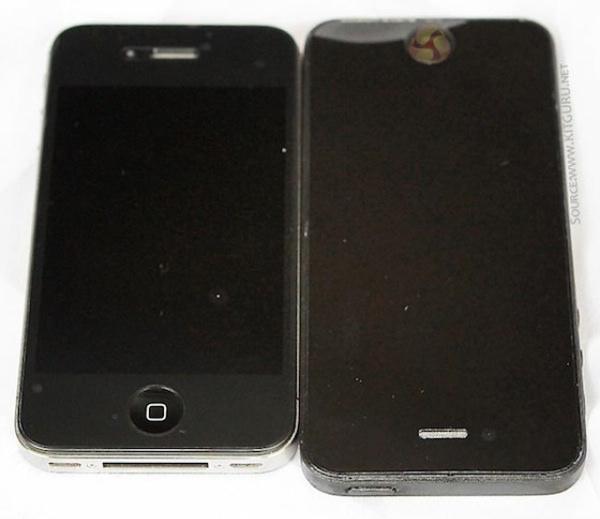 「iPhone 5」ボディ画像