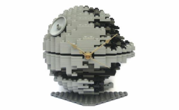 デススター型レゴ時計