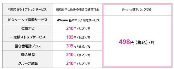 ソフトバンク iphone 紛失捜索サービス