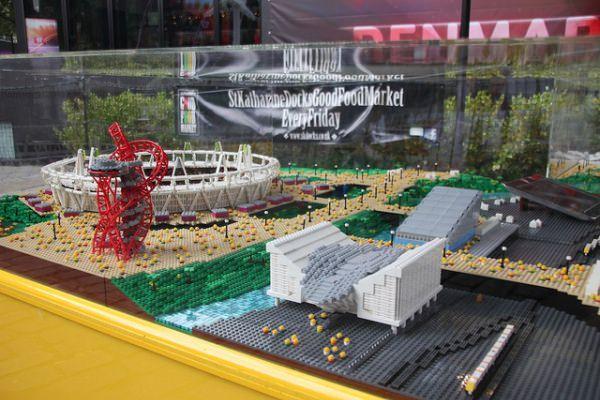 レゴ ロンドン五輪スタジアム