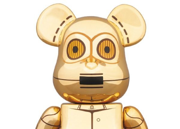 メディコム・トイ C-3PO ベアブリック限定