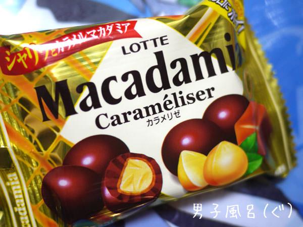 ロッテマカダミアナッツチョコ カラメリゼ