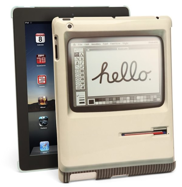 Padintosh Old Mac style ipad cover