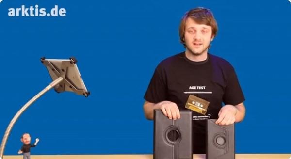 iPad miniケース ドイツ 映像
