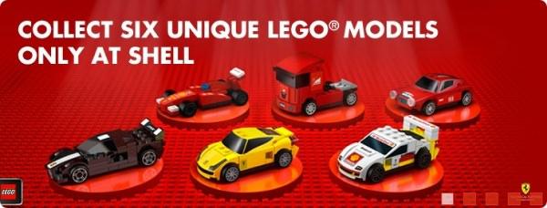シェル石油 フェラーリ限定レゴ