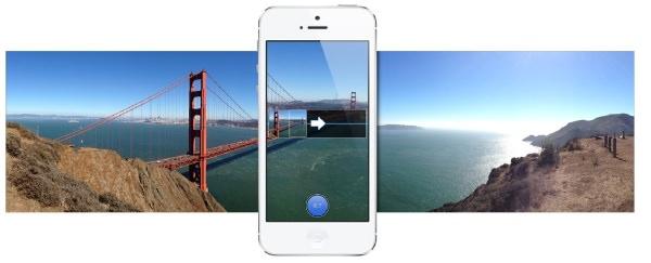 「iPhone 5」カメラパノラマ