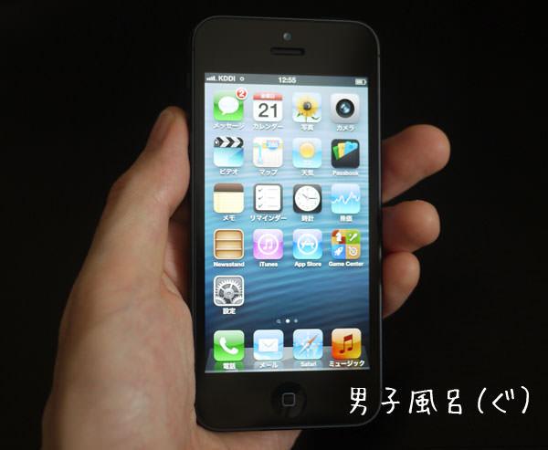 「iPhone 5」本体表