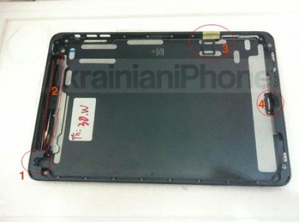 「iPad mini」 SIMスロット