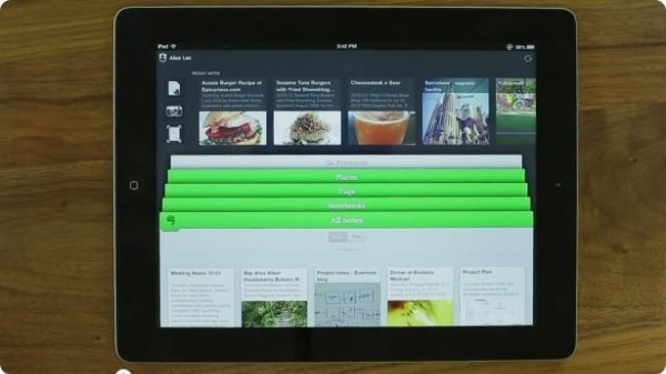 Evernote 5 for ios
