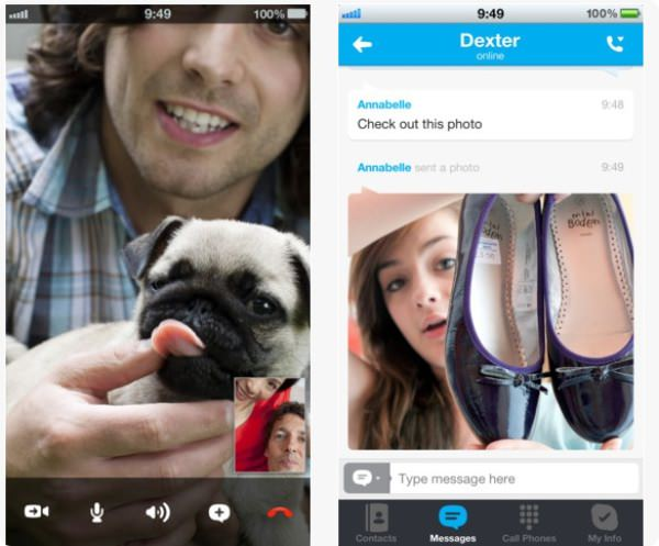 Skype iphone5