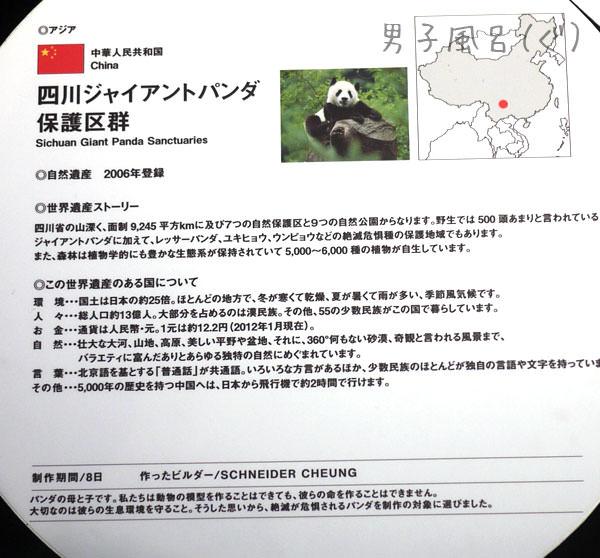 レゴ世界遺産 ジャイアントパンダ 解説