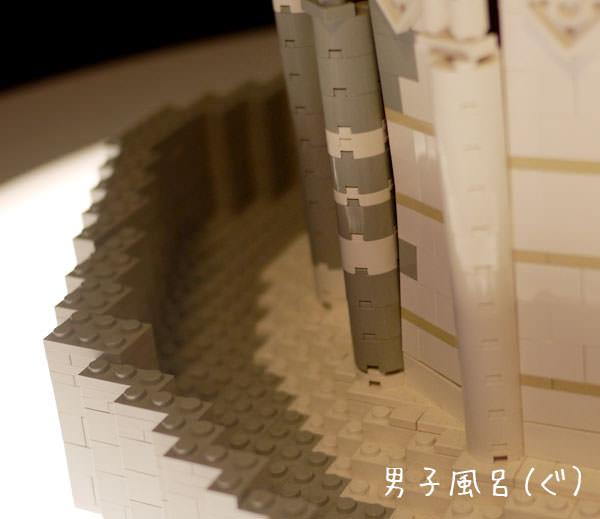 レゴ 世界遺産 ピサの斜塔 底部左側