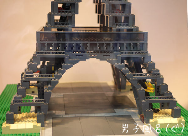 レゴ世界遺産 エッフェル塔