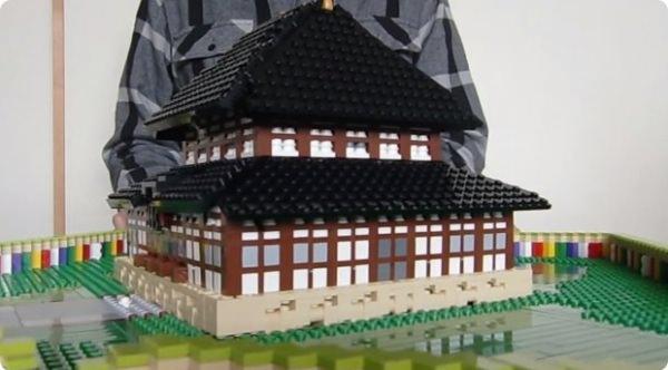 レゴ 飛び出す東大寺