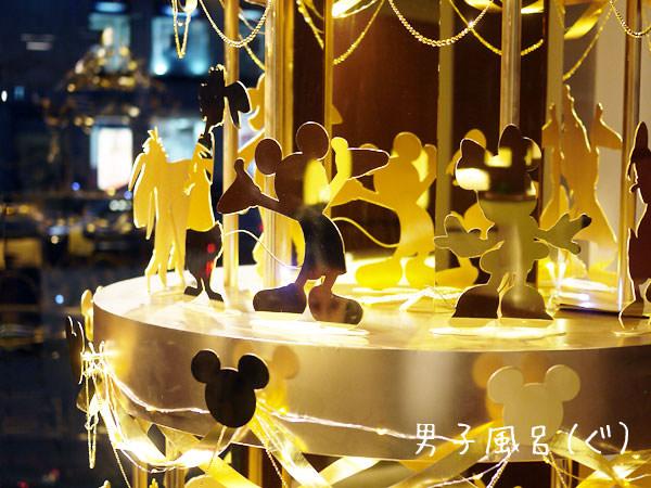 GINZA TANAKA ディズニーの純金ツリー