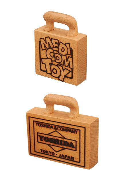 吉田カバンベアブリック 付属木製カバン