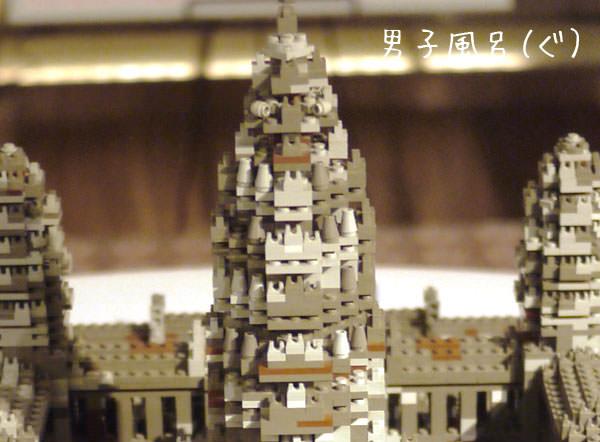 アンコールワット遺跡 塔のアップ1