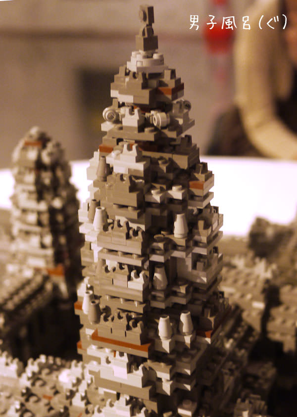 アンコールワット遺跡 塔のアップ2