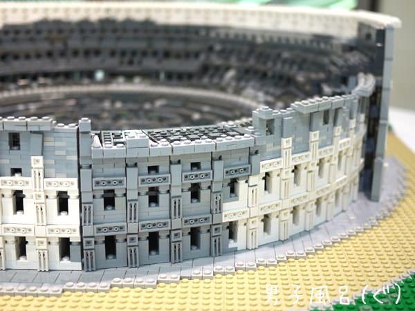 レゴ 世界遺産 コロッセオ アップ