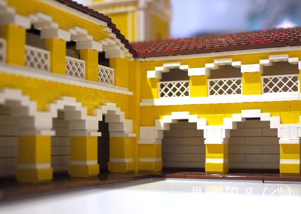 レゴ世界遺産 コロとその港 中庭アーチ