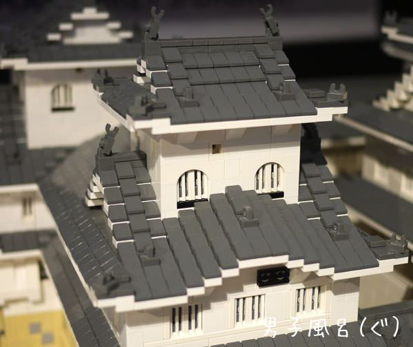 レゴ 世界遺産 姫路城 横の建物