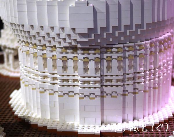 レゴ世界遺産 タージ・マハル ドームの下部分