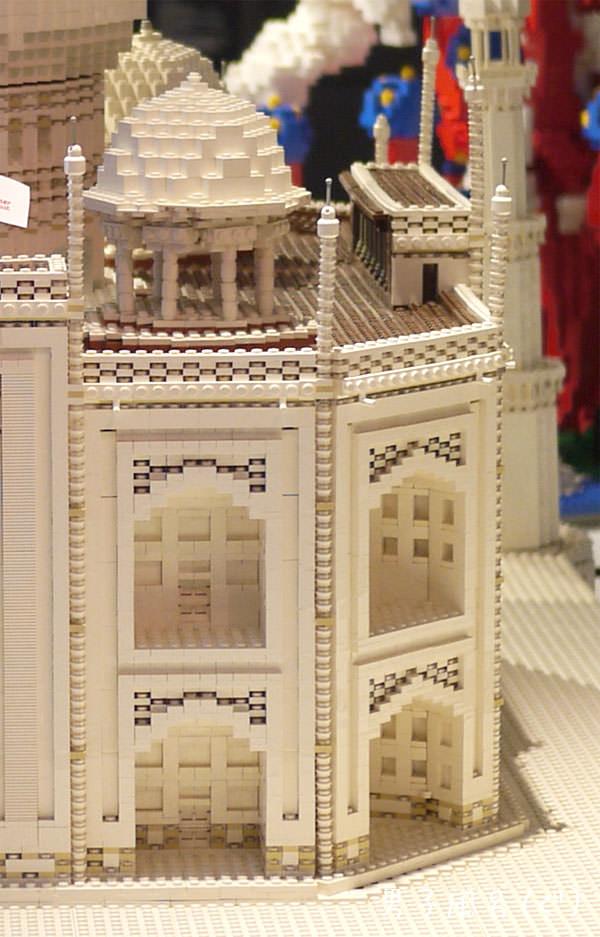 レゴ世界遺産 タージ・マハル 右半分