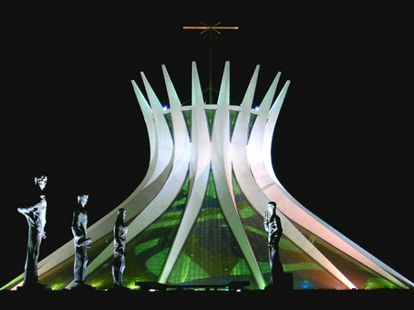 Cathedral of Brasília 本物