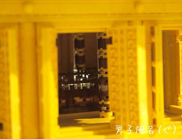 中尊寺金色堂 中の柱