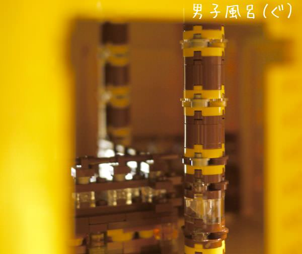 中尊寺金色堂 中の柱 拡大