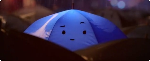 ピクサー The Blue Umbrella