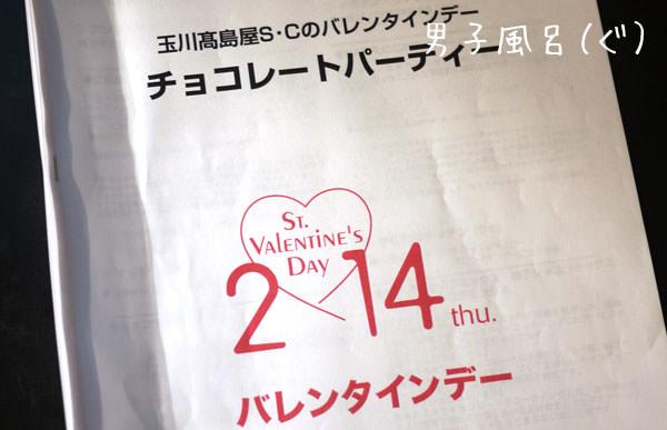 バレンタインチョコレートパーティー2013
