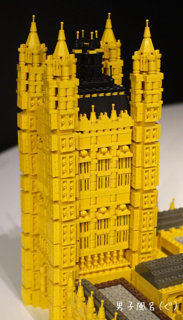 レゴ 世界遺産 ウェストミンスター宮殿 ヴィクトリアタワー