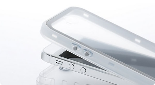「iPhone 5」防水ケース デザイン