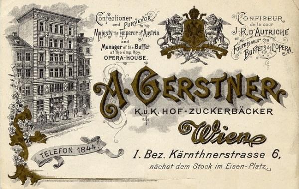 ゲルストナーのチョコレート